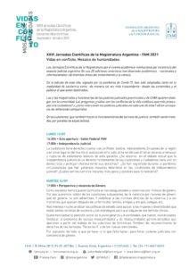 XXVI JORNADAS CIENTIFICAS DE LA MAGISTRATURA ARGENTINA